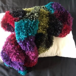 Colorful soft scarf